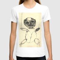 teddy bear T-shirts featuring Teddy bear by Attila Hegedus