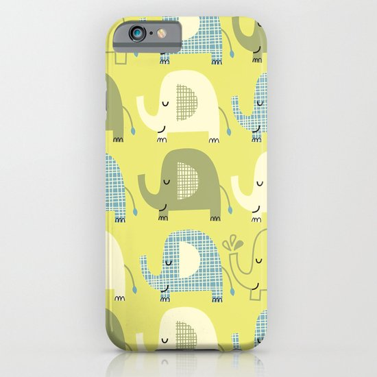E is for Elephant iPhone & iPod Case