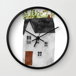 Rooftop Garden Wall Clock