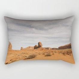 "Monument Valley, ""Elephant Butte"" Rectangular Pillow"