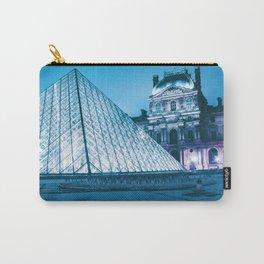 Louvre Museum Paris, France (Color) Carry-All Pouch