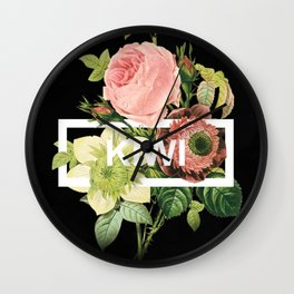 Harry Styles Kiwi Artwork Wall Clock