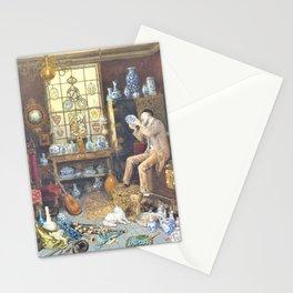 12,000pixel-500dpi - Myles Birket Foster - The Old Curiosity Shop - Digital Remastered Edition Stationery Cards