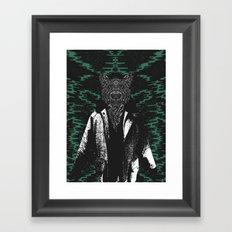 Jus' chillin Framed Art Print