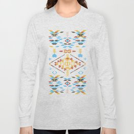 Native Aztec Long Sleeve T-shirt