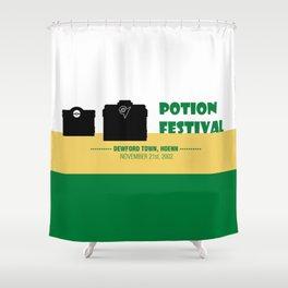 Dewford Town Potion Festival Shower Curtain