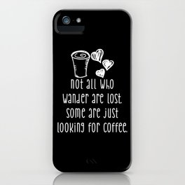 Coffee Junky iPhone Case