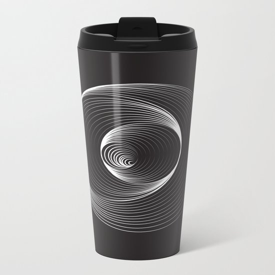 Black Hole - Small Metal Travel Mug