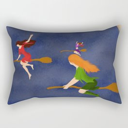 Charming Fliers Rectangular Pillow