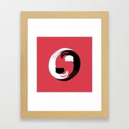 Kityin kityang Framed Art Print