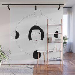 Four moons Wall Mural