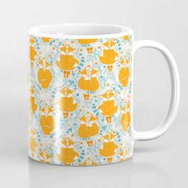 Foxes in love - Grey Coffee Mug