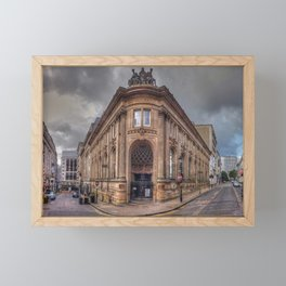 The Old Financial District Framed Mini Art Print
