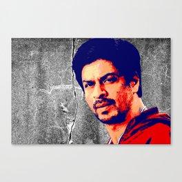 Shah Rukh Khan Canvas Print