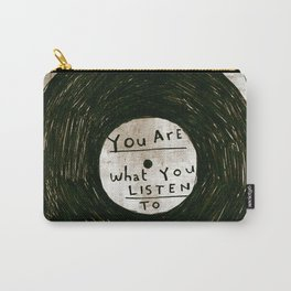 you are what you listen to, GRUNGE Carry-All Pouch