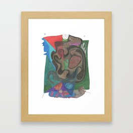 Drawing #55 Framed Art Print