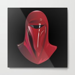 Imperio red Metal Print
