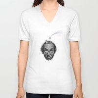 inspiration V-neck T-shirts featuring Inspiration by Hulliballoo Smith