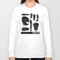 robocop Long Sleeve T-shirts featuring Decommissioned: Robocop by Josh Ln