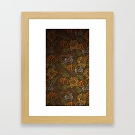 Food Things Framed Art Print