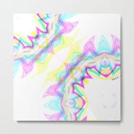 kaleidoscope pattern Metal Print