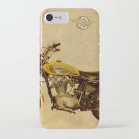 ducati iPhone & iPod Cases featuring Ducati Scrambler 350 1970 by Larsson Stevensem