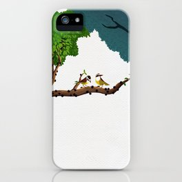 Ben-te-vis na jabuticabeira iPhone Case
