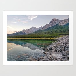 Reflecting on Stillness Art Print