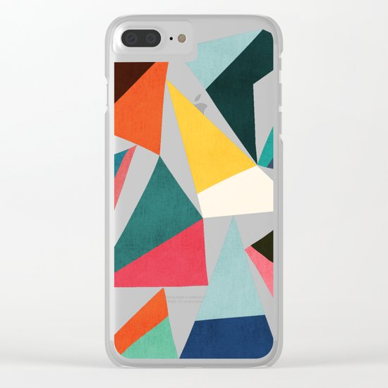 Collection of pointy summit Clear iPhone Case