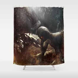 At Hell's Gate Shower Curtain