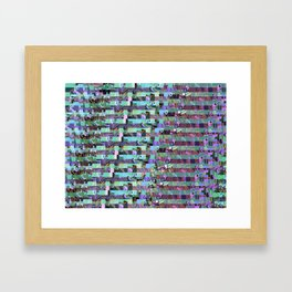 Pattern Test II-A Framed Art Print