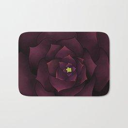 The Purple Rose Bath Mat