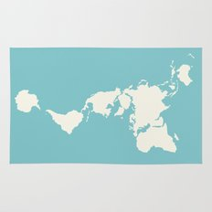 Dymaxion Map Rug