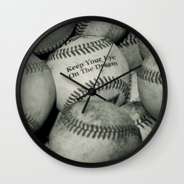 Keep Your Eye On The Dream Wall Clock