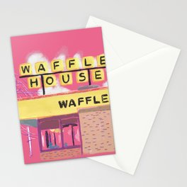Pretty Waffle House Stationery Cards