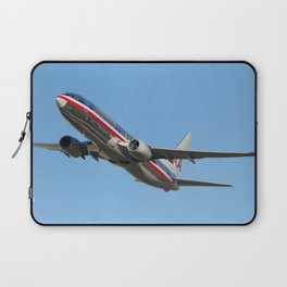 N898NN American Airlines Boeing 737-823 Miami Florida USA Aircraft Laptop Sleeve