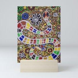 THE RAINBOW SERPENT Mini Art Print