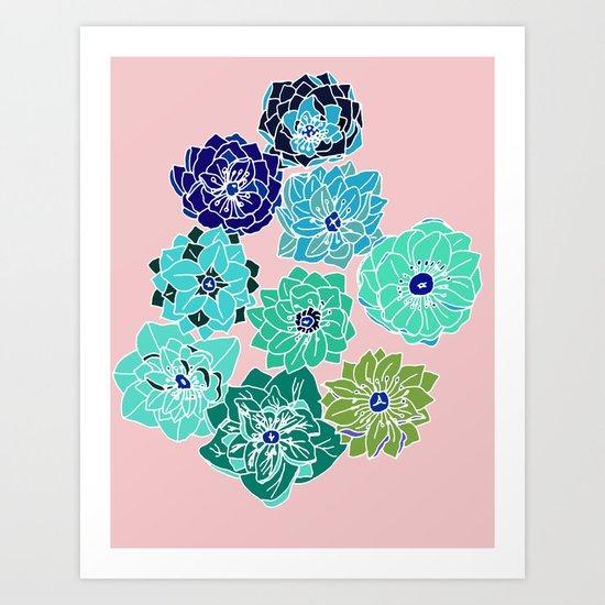 hellebore Art Print