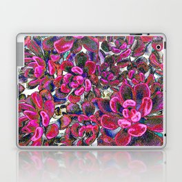Floral tribute [red velvet] Laptop & iPad Skin