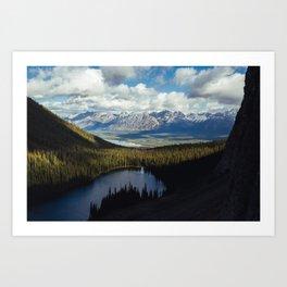 Kananaskis Lakes Art Print