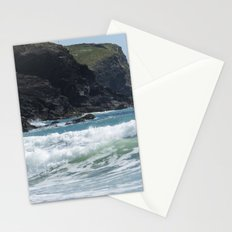 White Surf Stationery Cards