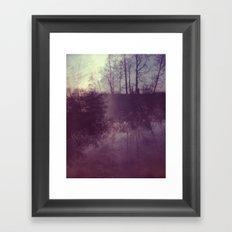 Copse Framed Art Print