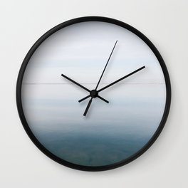 BLUE MOON VII / Alviso, California Wall Clock
