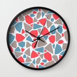 Broken pieces 4 Wall Clock