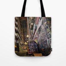 Graffiti Lane Tote Bag