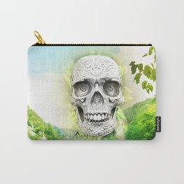 Skull Sun Carry-All Pouch
