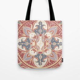 Coral and Sunshine Tote Bag