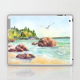 Morning on the Beach Laptop & iPad Skin