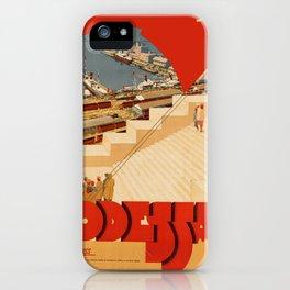 Vintage poster - Odessa iPhone Case