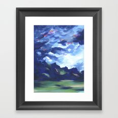 Cotopaxi Storm Framed Art Print